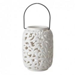 Lanterne en céramique - Rice - Small cream