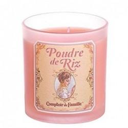 Bougie parfumée - Poudre de riz - Comptoir de Famille