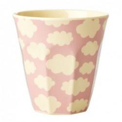Gobelet Mélamine - Rice - Cloud pink