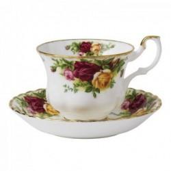 Tasses et sous tasse à thé - Old Country Roses - Royal Albert - 20 cl