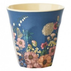 Gobelet Mélamine - Rice - Flower collage