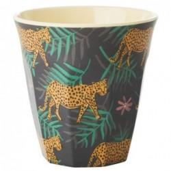 Gobelet Mélamine - Rice - Leopard & Leaves