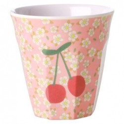 Gobelet Mélamine - Rice - Small flower & Cherry