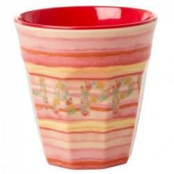Gobelet Mélamine - Rice - Happy pink