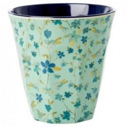 Gobelet Mélamine - Rice - Blue Floral