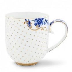 Grand mug Royal White dots - Pip Studio - 35cl