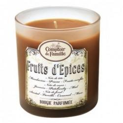 Bougie parfumée - Fruits d'Epices - Comptoir de Famille