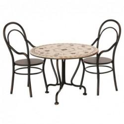 Table et chaises  - Maileg- Vintage