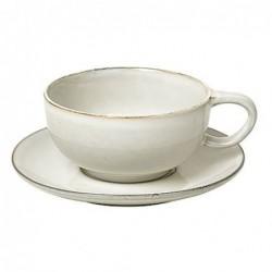 Tasse et sous tasse à thé - Broste Copenhagen - Nordic sand
