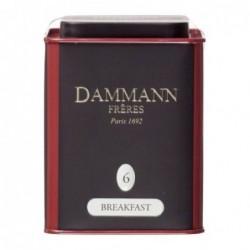 Boite Dammann Frères n°6 Breakfast - thé noir 100g