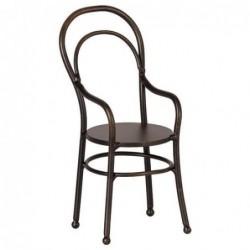 Chaise à accoudoirs - Maileg - Noir