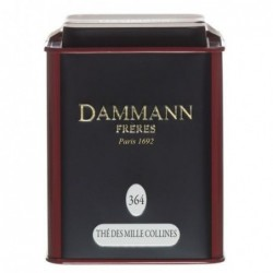 Boite Dammann Frères n°364 Thé des mille collines - thé noir 150g
