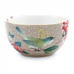 Bol - Blushing Birds - Kaki - Pip Studio - 12 cm