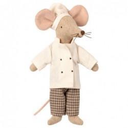 Souris - Maileg - Chef de cuisine