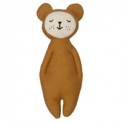 Hochet doux - Ours - Fabelab - Ocre
