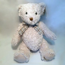 Peluche Ours Blanc - Country Casa - Evan