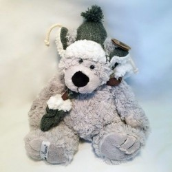 Peluche Ours Gris - Country Casa - Colin