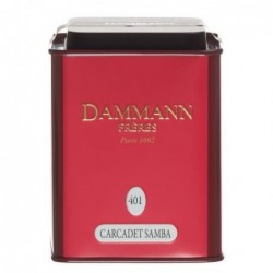 Boite Métal Dammann Frères Carcadet - Samba - 100g