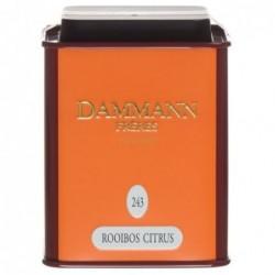 Boite Métal Dammann Frères Rooibos Citrus - 100g