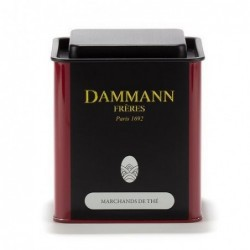 Boite Vide Dammann Frères - Thé noir - Marchands de thé 250g