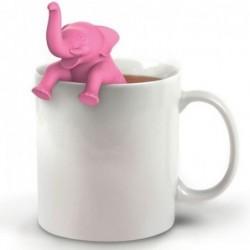 Infuseur à thé - Éléphant rose