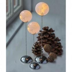 Trio de boules de verre lumineuses - Sirus - Vega