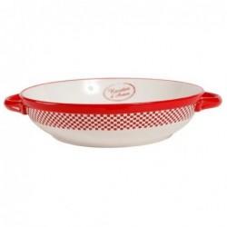 Plat de cuisson - Carreau rouge - Comptoir de Famille
