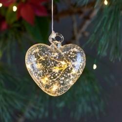 Suspension lumineuse LED - Sirius - Hjerte - Heart