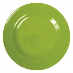 Assiette plate Mélamine - Rice - Apple Green - 25 cm