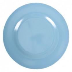 Assiette plate Mélamine - Rice - Turquoise - 25 cm