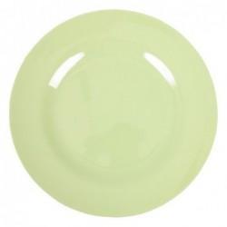 Assiette plate Mélamine - Rice - Mint - 25 cm