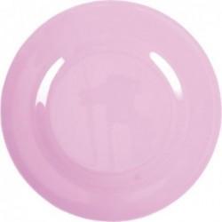 Assiette plate Mélamine - Rice - Dark pink - 25 cm