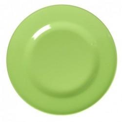 Assiette plate Mélamine - Rice - Néon green - 25 cm