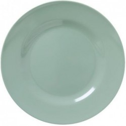 Assiette plate Mélamine - Rice - Kaki - 25 cm