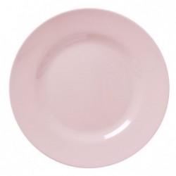 Assiette plate Mélamine - Rice - Soft Pink - 25 cm