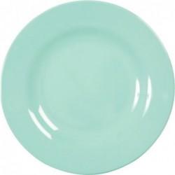 Assiette plate Mélamine - Rice - Dark Mint - 25 cm