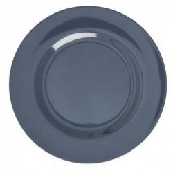 Assiette plate Mélamine - Rice - Dark Grey - 25 cm