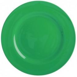 Assiette plate Mélamine - Rice - Vert forêt - 25 cm