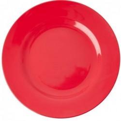 Assiette plate Mélamine - Rice - Red Kiss - 25 cm