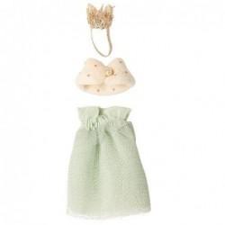 Vêtement souris - Micro - Maileg - Reine - Menthe