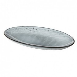 Petit plat oval - Broste Copenhagen - Nordic sea - Gres