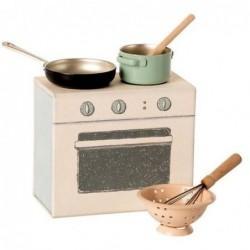 Cuisinière et accessoires - Maileg