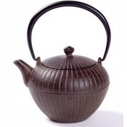 Théière Fonte japonaise - Chakatake Marron - 0.55 L