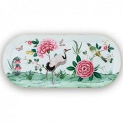 Plat à cake - Blushing Birds - Blanc - Pip Studio