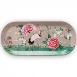 Plat à cake - Blushing Birds - Kaki - Pip Studio