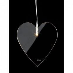 Coeur lumineux LED - Sirius - Emma 11cm