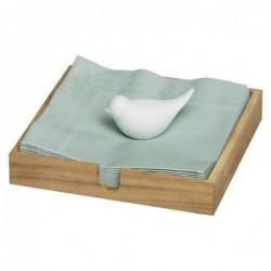 Porte serviette - Birds - Porcelaine et bois - Rader