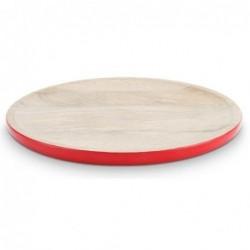 Assiette de présentation émaillée - Blushing Birds - Rouge - Pip Studio - 30 cm