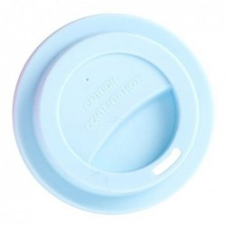 Couvercle en silicone - Rice - Baby blue