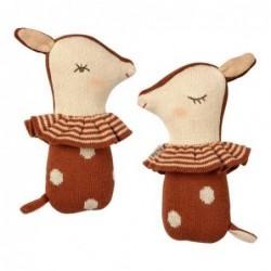 Hochet - Bambi - Maileg - Marron